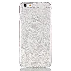 Для Кейс для iPhone 6 / Кейс для iPhone 6 Plus Ультратонкий / С узором Кейс для Задняя крышка Кейс для Кружевной дизайн Твердый PCiPhone