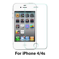 abordables Protectores de Pantalla para iPhone 4s / 4-Protector de pantalla para Apple iPhone 6s / iPhone 6 Vidrio Templado 1 pieza Protector de Pantalla Frontal Dureza 9H / A prueba de explosión