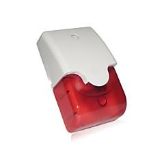 abordables Sensores de Seguridad-uv sirena de alarma antirrobo prevención con luz estroboscópica y viviendas abs altamente resistente