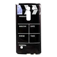 Käyttötarkoitus LG kotelo kotelot kuoret Kuvio Takakuori Etui Musta  ja valkoinen Pehmeä TPU varten LG LG Spirit / LG C70 H422