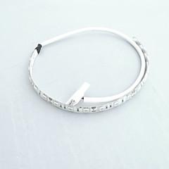 お買い得  LED ストリングライト-0.3m 電源装置 18 LED 5050 SMD 温白色 / ホワイト / レッド 防水 12 V / # / IP65