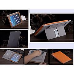 color sólido auto de cuero de la PU del sueño / despierta casos casos de envolvente folio para ipad aire 2 (color clasificado)
