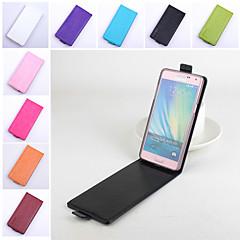 tanie Galaxy A5 Etui / Pokrowce-Na Samsung Galaxy Etui Flip / Magnetyczne Kılıf Futerał Kılıf Jeden kolor Skóra PU Samsung A5