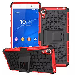 Mix Color TPU&PC Heavy Duty Armor Stand Case for Sony Xperia Z2/Z3/Z4/Z3 Mini/Z4 Mini(Assorted Colors)