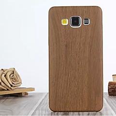 olcso Galaxy A7 tokok-Mert Samsung Galaxy tok Minta Case Hátlap Case Fa mintázat Műbőr Samsung A7 / A5 / A3