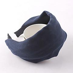 tanie Biżuteria do włosów-Materiał Black Gray Fuchsia Niebieski