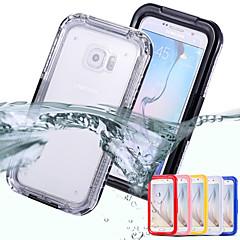 νέα αδιάβροχη θήκη για το Samsung Galaxy S6 άκρη χιόνι βρωμιά νερό απόδειξη σοκ πίσω κάλυψη περίπτωσης για το S6 g9200 / S6 άκρη g9250