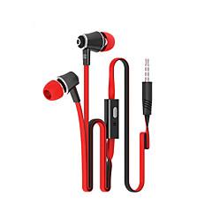 tanie Słuchawki do telefonu-langsdom jm21 3.5mm wysokiej jakości mikrofon z redukcją szumów w ucho słuchawki dla iPhone i innych telefonów
