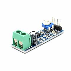 voordelige Sensoren-lm386 audioversterkermodule 200 keer 5v-12v ingang 10k instelbare weerstandsval