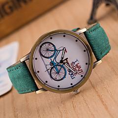 preiswerte Damenuhren-Damen Armbanduhr Armbanduhren für den Alltag Leder Band Charme / Freizeit / Modisch Schwarz / Weiß / Blau / Ein Jahr / Tianqiu 377