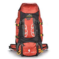hesapli -55 L Arka Çantaları Tırmanma Serbest Sporlar Kamp & Yürüyüş Su Geçirmez Toz Geçirmez Giyilebilir Çok Fonksiyonlu