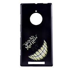 お買い得  Nokia ケース/カバー-用途 Nokiakケース ケース カバー パターン バックカバー ケース ワード/文章 ハード PC のために Nokia