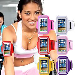 Недорогие Кейсы для iPhone 6-Кейс для Назначение iPhone 6s Plus iPhone 6 Plus iPhone 6s iPhone 6 универсальный с окошком Нарукавная повязка С ремешком на руку
