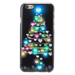 Для Кейс для iPhone 6 / Кейс для iPhone 6 Plus С узором Кейс для Задняя крышка Кейс для Новогодняя тематика Твердый PCiPhone 6s Plus/6