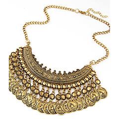 preiswerte Halsketten-Damen Statement Ketten - Europäisch, Modisch Gold, Schwarz, Silber Modische Halsketten Für Besondere Anlässe, Geburtstag, Geschenk