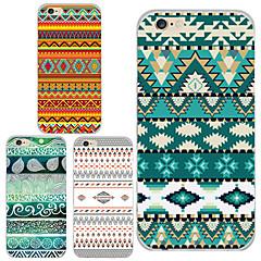 Для Кейс для iPhone 6 / Кейс для iPhone 6 Plus С узором Кейс для Задняя крышка Кейс для Полосы / волосы Мягкий TPUiPhone 6s Plus/6 Plus /
