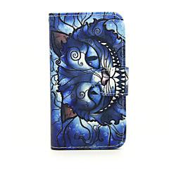용 노키아 케이스 지갑 / 카드 홀더 / 스탠드 케이스 풀 바디 케이스 고양이 하드 인조 가죽 Nokia Nokia Lumia 630