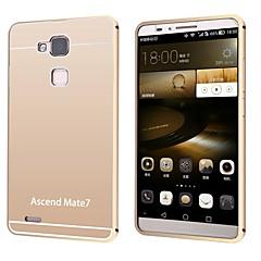 For Huawei etui Belægning Etui Bagcover Etui Helfarve Hårdt Akryl for Huawei Huawei Mate 7