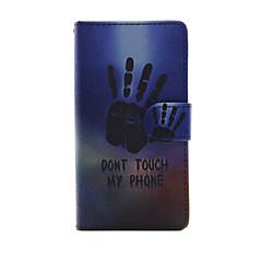 Недорогие Чехлы и кейсы для Sony-Кейс для Назначение Sony Xperia Z3 Compact Sony Xperia M4 Аква Sony Кейс для Sony Бумажник для карт Кошелек со стендом Флип Чехол Слова /