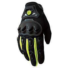 Aktivitets- / Sportshandsker Cykelhandsker Vindtæt Fleecefoer Slidsikkert Beskyttende Fuld Finger Spandex Syntetisk Læder Nylon Cykling /