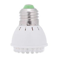 お買い得  LED 電球-1個 2 W 150 lm E26 / E27 成長する電球 38 LEDビーズ 装飾用 レッド / ブルー 220-240 V / RoHs / FCC