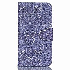 olcso Galaxy A3 tokok-Case Kompatibilitás Samsung Galaxy Samsung Galaxy tok Kártyatartó Állvánnyal Flip Mágneses Minta Héjtok Csempe PU bőr mert A5 A3