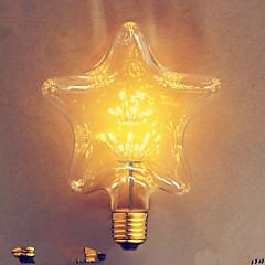 e27 2w stjärna stjärna edison hotel der bar dekorativa glödlampa 110v220v