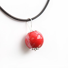 preiswerte Halsketten-Damen Anhängerketten - Klassisch, Modisch Rot Modische Halsketten Für Party, Alltag, Normal