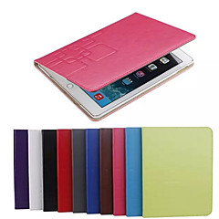 Na Samsung Galaxy Etui Etui na karty / Z podpórką / Flip / Wytłaczany wzór Kılıf Futerał Kılıf Jeden kolor Skóra PU SamsungTab 4 8.0 /