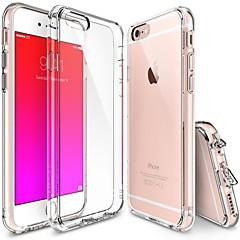 用途 iPhone X iPhone 8 iPhone 7 iPhone 7 Plus iPhone 6 iPhone 6 Plus ケース カバー クリア バックカバー ケース 純色 ソフト TPU のために Apple iPhone X iPhone 8 Plus