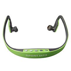 mode sport stereo headset hoofdtelefoon oortelefoon mp3-muziekspeler voor micro sd tf slot voor speler samsung iphone