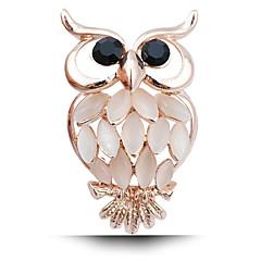 tanie -nowe mody diamentowa broszka pani Sowa