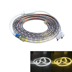 abordables Regalo Gratis-3M Fuente de Poder 240 LED 3528 SMD Blanco Cálido / Blanco Impermeable / Adecuadas para Vehículos 220 V / IP65