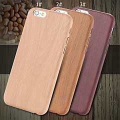 For iPhone X iPhone 8 iPhone 8 Plus iPhone 6 iPhone 6 Plus Case Cover Ultra-thin Back Cover Case Wood Grain Hard PU Leather for iPhone X