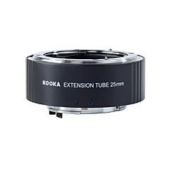 ニコン25ミリメートル入力一眼レフカメラのTTL自動露出とkooka KK-N25真鍮AF延長管