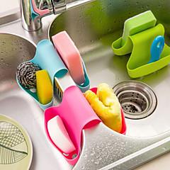 hesapli Saklama Kapları-Çok fonksiyonlu mutfak ve banyo drenaj eyer şeklinde dirsek (rastgele renk)