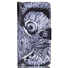 Na Samsung Galaxy Etui Portfel / Etui na karty / Z podpórką / Flip Kılıf Futerał Kılıf Sowa Skóra PU SamsungS6 / S5 Mini / S5 / S4 Mini /