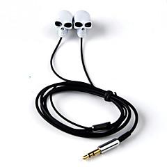 Kulak metal kulaklık yüksek kaliteli stereo kulaklık samsung için mikrofon 3.5mm kulakiçi kulaklıklar ile handsfree s4 / s5