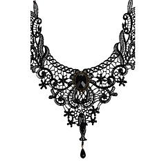 Women's Choker Necklaces Pendant Necklaces Jewelry Lace Vintage Bridal Costume Jewelry Jewelry For Wedding Party Daily Casual