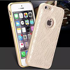 Для Кейс для iPhone 6 Кейс для iPhone 6 Plus С узором Кейс для Задняя крышка Кейс для Плитка Твердый Искусственная кожа дляiPhone 6s Plus