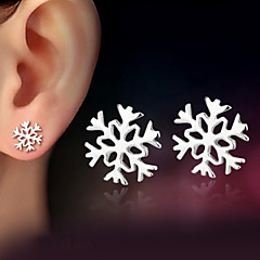cheap Women's Jewelry-Women's Stud Earrings - Sterling Silver, Silver Classic Silver For Wedding Party Daily