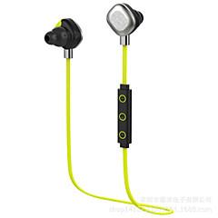 tanie Słichawki douszne-W uchu Bezprzewodowy / a Słuchawki Dynamiczny Plastikowy Rozrywka Słuchawka Mini / Z kontrolą głośności / z mikrofonem Zestaw słuchawkowy