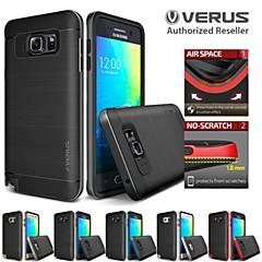 For Samsung Galaxy etui Andet Etui Bagcover Etui Helfarve Silikone for Samsung S6 edge plus S6 edge S6
