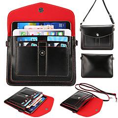 olcso Univerzális tokok és táskák-többrétegű kártyák átlós mobiltelefon Samsung Galaxy S3 / S4 // S5 / s5mini / S6 / S6 él / S6 szélén plusz (vegyes színek)