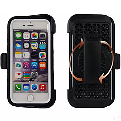 Для Кейс для iPhone 6 / Кейс для iPhone 6 Plus Защита от удара / Защита от пыли / Водонепроницаемый / со стендом Кейс для Чехол Кейс для