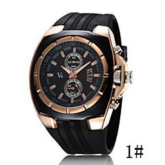 お買い得  大特価腕時計-女性用 クォーツ スポーツウォッチ カジュアルウォッチ Plastic バンド ファッション クール ブラック
