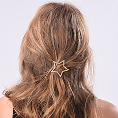 cheap Hair Jewelry-Women's Elegant Alloy Hair Clip Flower / Hair Combs / Hair Combs