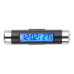 billige Head-Up Displays-varm bil lcd digital baggrundslys til bilen termometer ur kalender