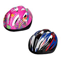 voordelige Helmen-Berg / Weg / Sporten - Fietsen / Wegwielrennen / Recreatiewielrennen / Schaatsen - Helm (Roze / Blauw , EPS / PVC) - voor Kinderen 9