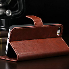 tanie Etui do iPhone 6-Kılıf Na Apple iPhone 8 iPhone 8 Plus Etui iPhone 5 iPhone 6 iPhone 6 Plus iPhone 7 Plus iPhone 7 Etui na karty Portfel Z podpórką Flip